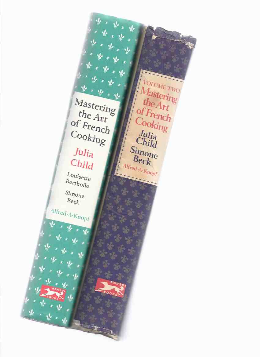 Image for 2 VOLUMES: Mastering the Art of French Cooking -BOOKS 1 and 2 ---by Julia Child ( Chef )( Cookbook / Cook Book / Recipes ( i and ii )( ONE and TWO )
