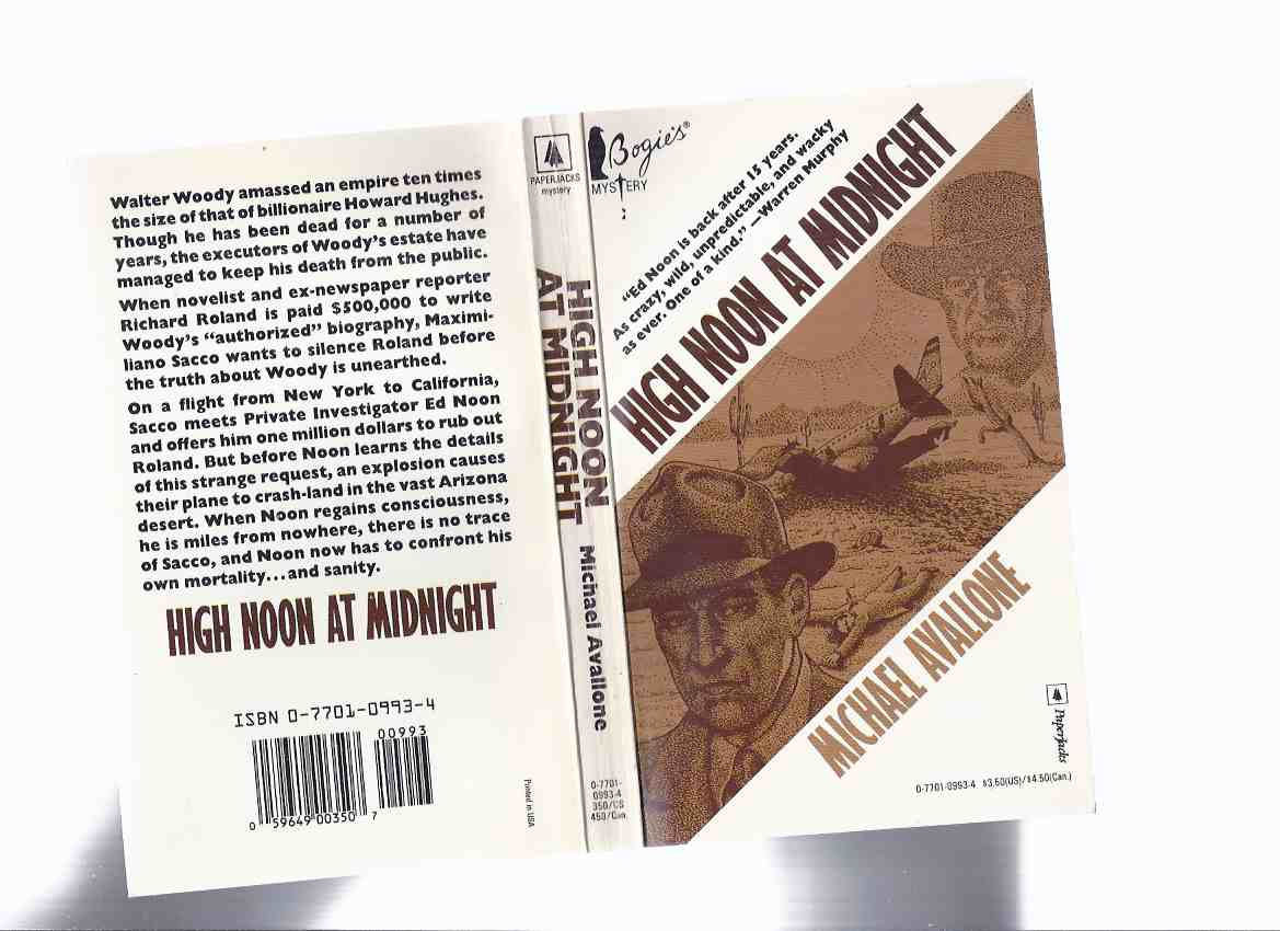 Image for High Noon at Midnight ---an Ed Noon Mystery By Michael Avallone
