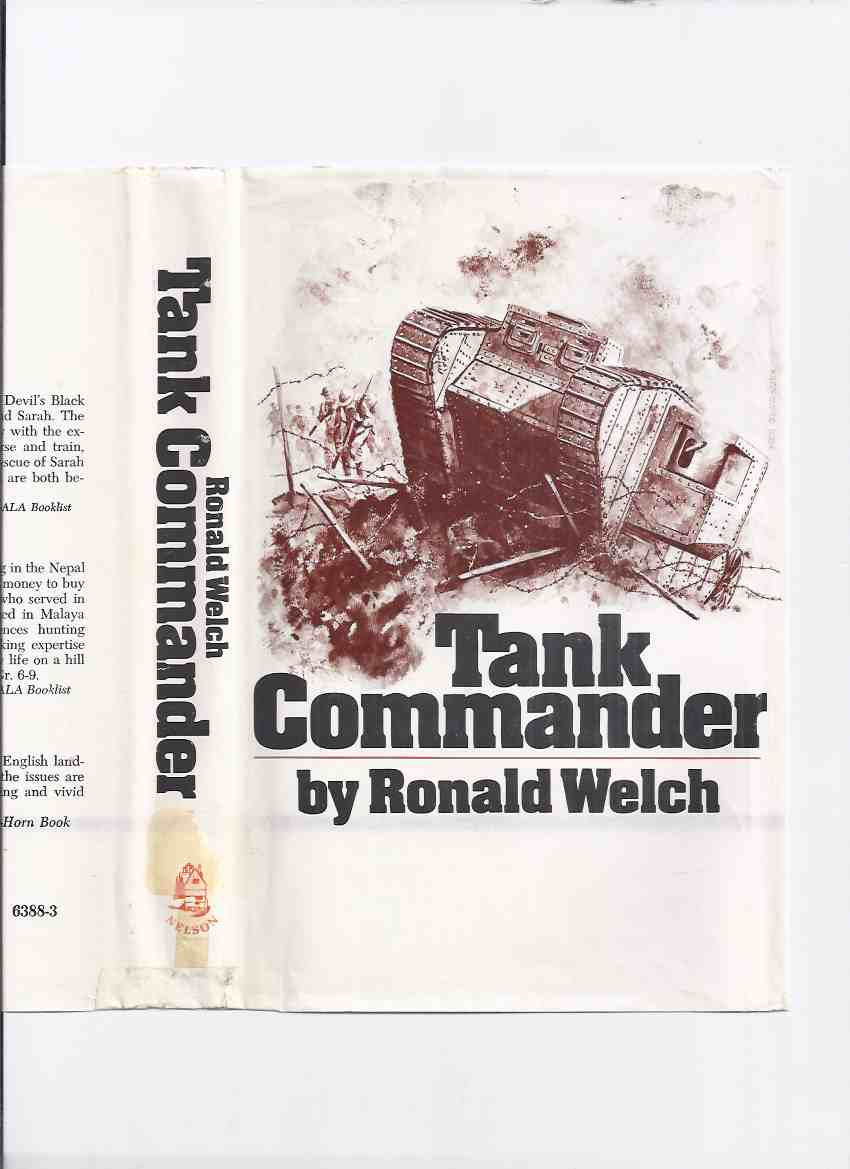 Image for Tank Commander  ---by Ronald Welch ( a Carey Family Novel )