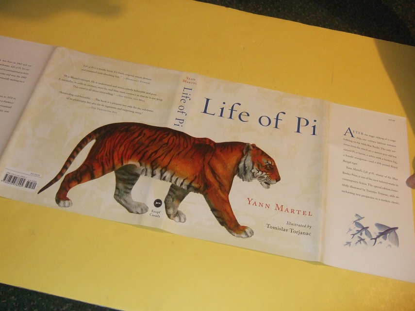 Image for Life of Pi: a Novel ---by Yann Martel  ( Signed - 1st Illustrated Edition )