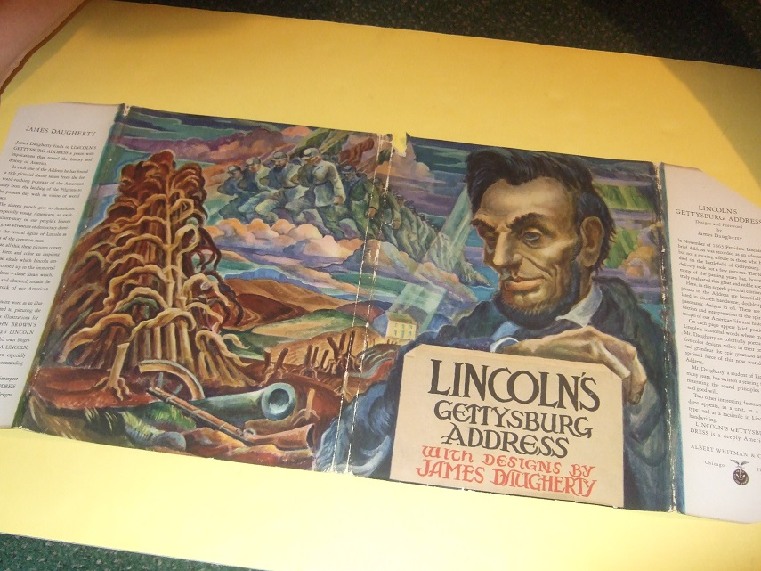 Image for Lincoln's Gettysburg Address with Designs By James Daugherty ( Illustrations / Illustrated By James Daugherty )( Abraham Lincoln )( Speech )
