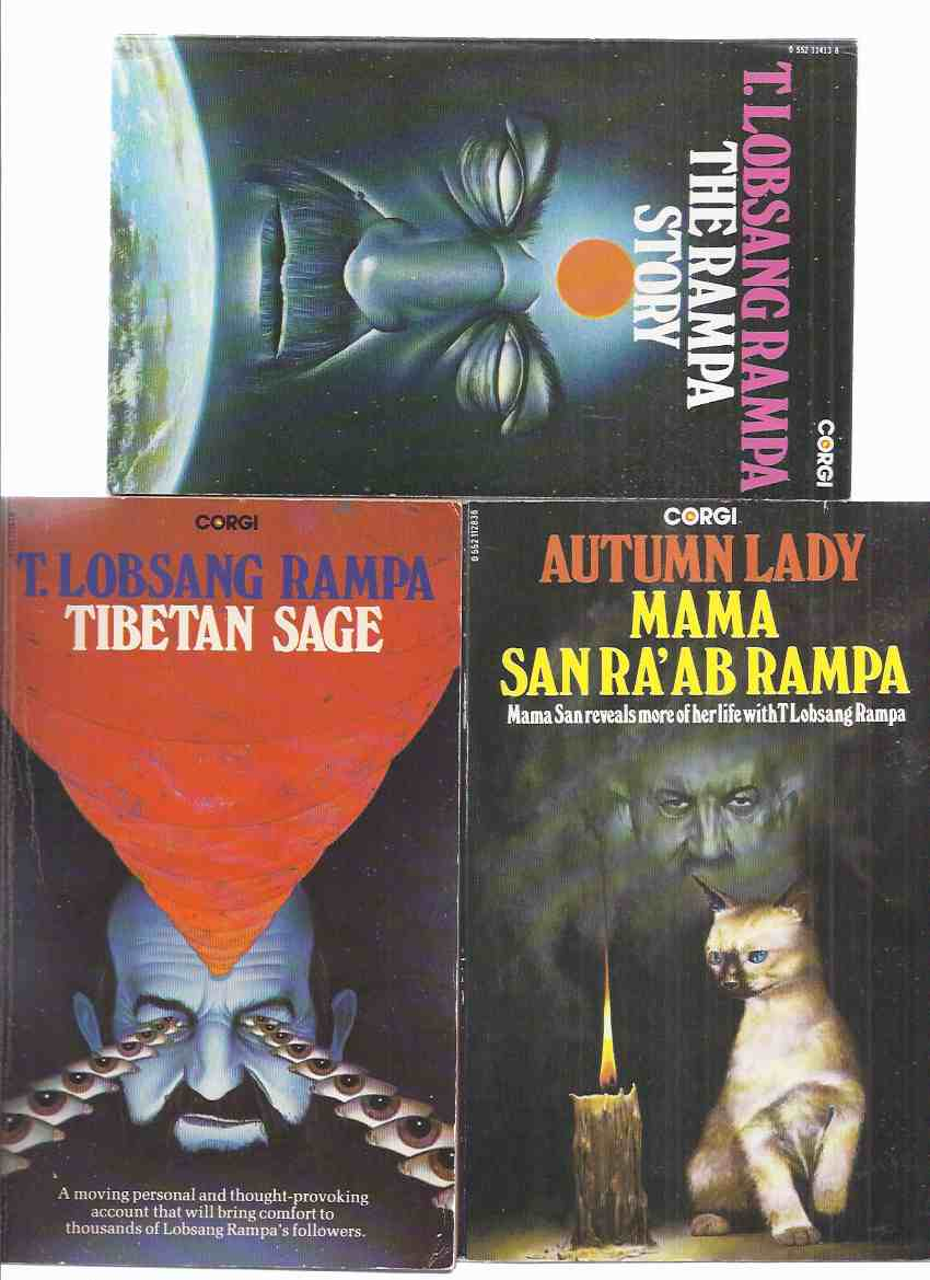 Image for Tibetan Sage  ---with The Rampa Story ---with Autumn Lady ---3 Volumes ---by T Lobsang Rampa and Mama San Ra'ab Rampa