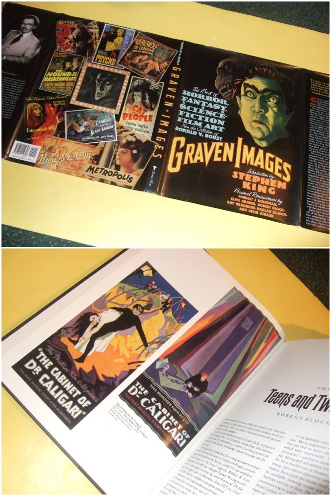 Image for GRAVEN IMAGES:  The Best of Horror, Fantasy and Science Fiction Film Art from the Collection of Ronald V Borst, Introduction by Stephen King; Reminiscences By Forrest J Ackerman; Clive Barker; Robert Bloch; Ray Bradbury; Harlan Ellison; Peter Straub