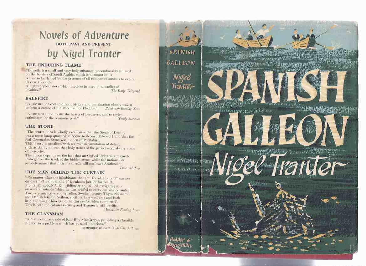 Image for Spanish Galleon -by Nigel Tranter