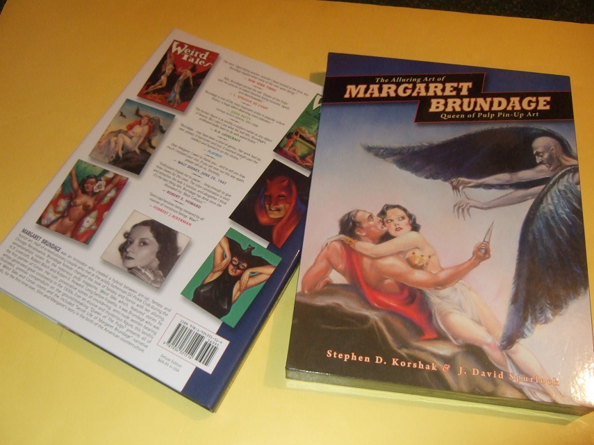 Image for The Alluring Art of Margaret Brundage: Queen of Pulp Pin-Up Art (in Slipcase with an Additional 16 Pages )