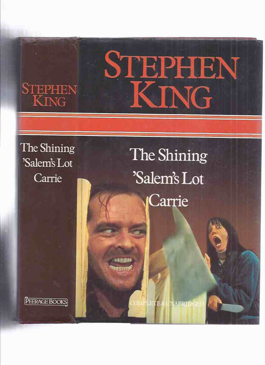 Image for Omnibus Containing THREE BOOKS By STEPHEN KING:  The Shining; 'Salem's Lot; Carrie ( Movie Tie-in Dustjacket with Shelly Duvall and Jack Nicholson )( Salem's Lot / Salems )