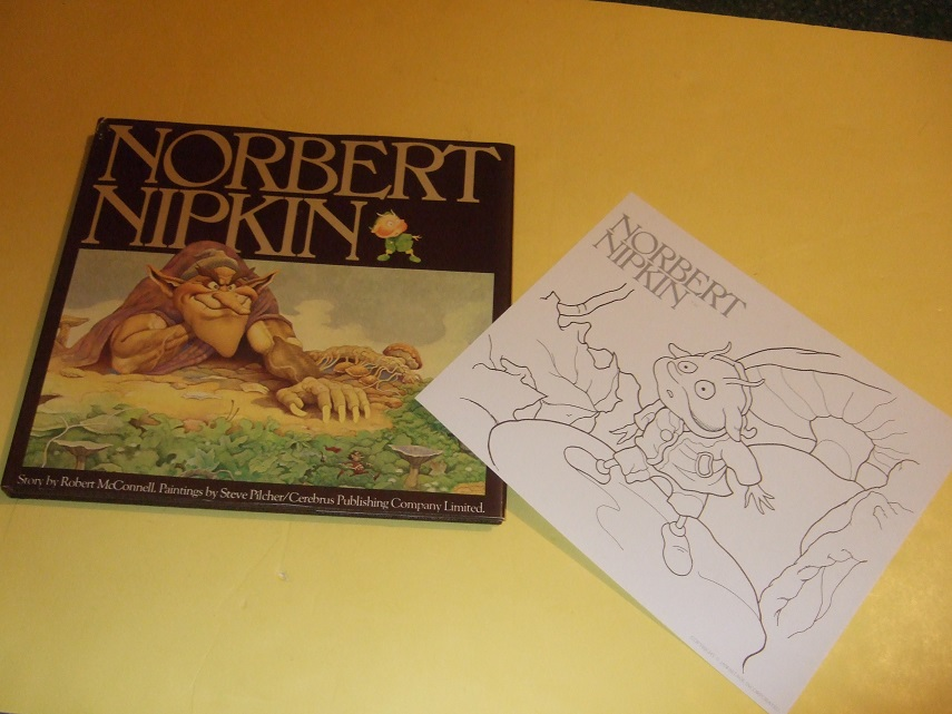 Image for Norbert Nipkin -by Robert McConnell, Illustrated By Steve Pilcher -with a NORBERT NIPKIN colouring Sheet