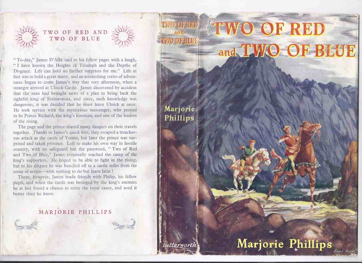 Image for Two of Red and Two of Blue  -by Marjorie Phillips ( 2 )