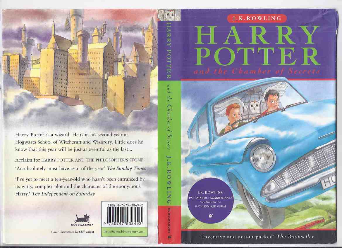 Image for Harry Potter and the Chamber of Secrets -Volume 2 of the Series -by J K Rowling ( Book Two / UK Bloomsbury edition )