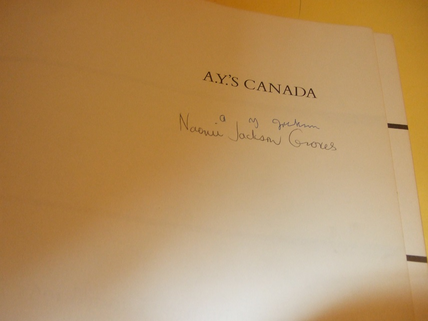 Image for A. Y.'s Canada:  Drawings By A Y Jackson ---by A Y JACKSON -a Signed Copy ( Group of Seven related)( Canadian Art / Artist )