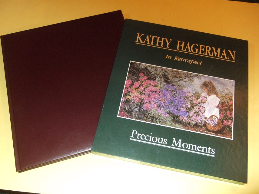 Image for Precious Moments:  Kathy Hagerman in Retrospect ---a Signed Copy of the Slipcased Limited Edition