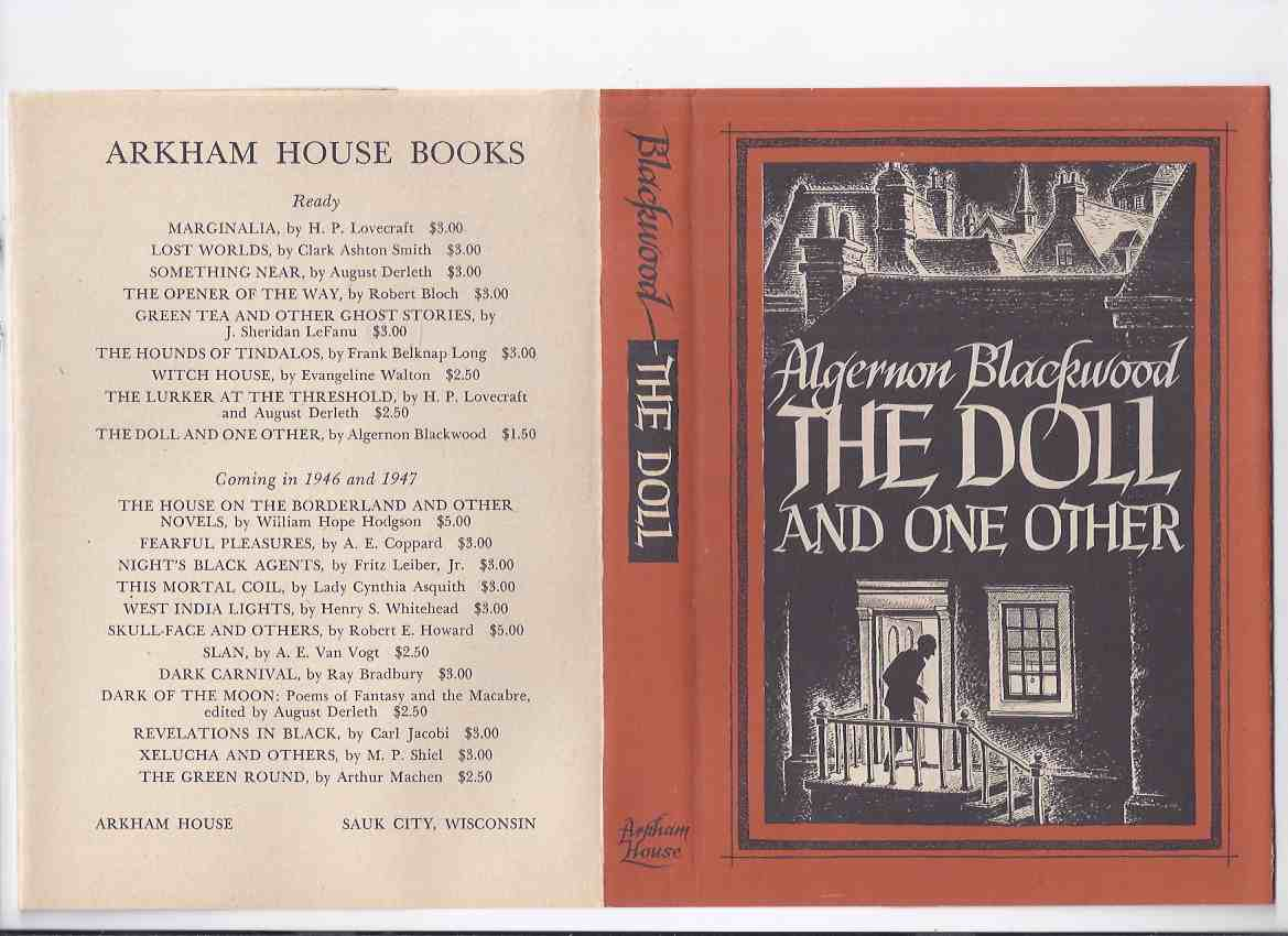 Image for ARKHAM HOUSE:  The Doll and One Other -by Algernon Blackwood / Arkham House (inc. The Trod )
