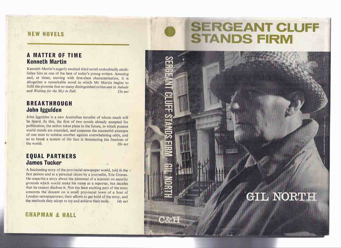 Image for Sergeant Cluff Stands Firm ---by Gil North ( Leslie Sands Photo Cover )
