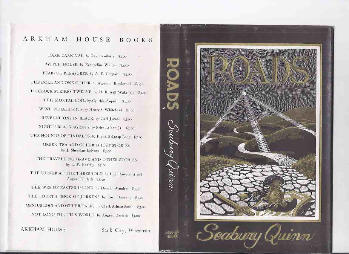 Image for ARKHAM HOUSE:  Roads ---a Copy Signed By Seabury Quinn and Virgil Finlay ( Signed Twice By Finlay )