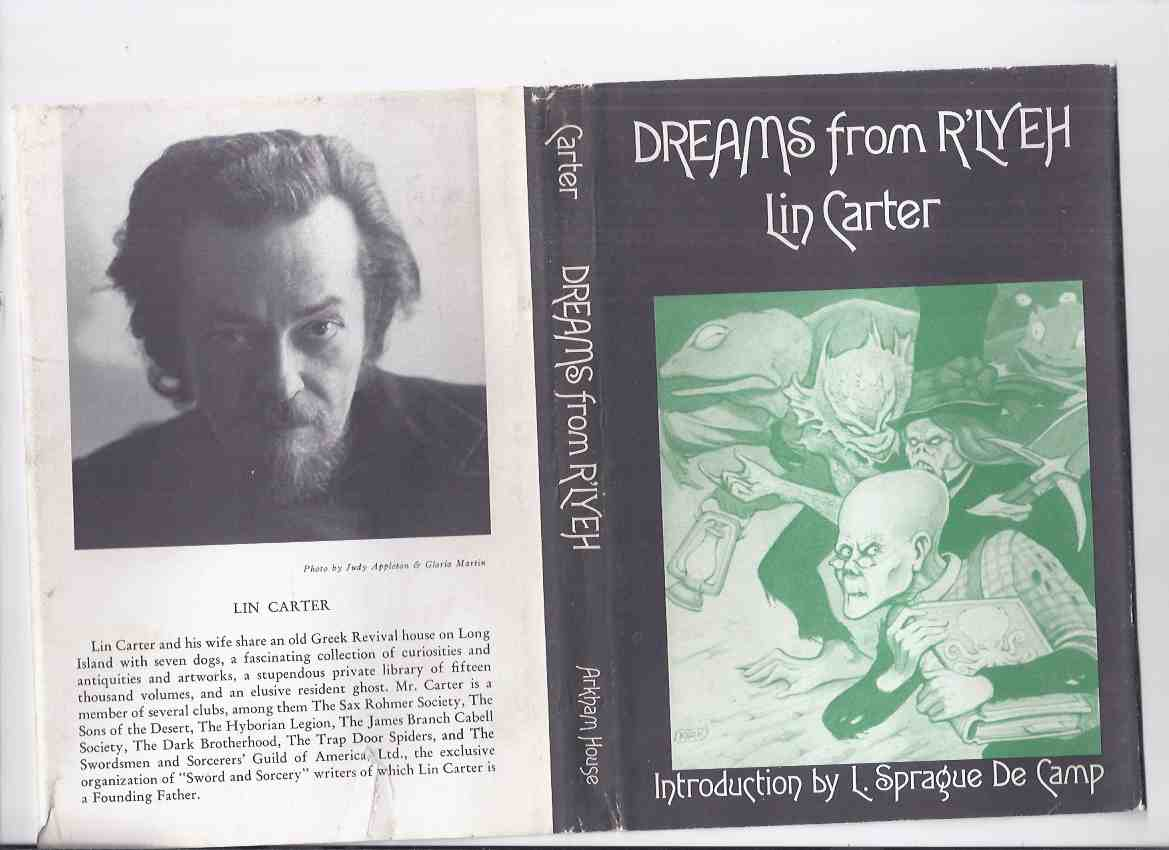 Image for Dreams from R'Lyeh -by Lin Carter ---- a signed Copy, Signed Twice / ARKHAM HOUSE