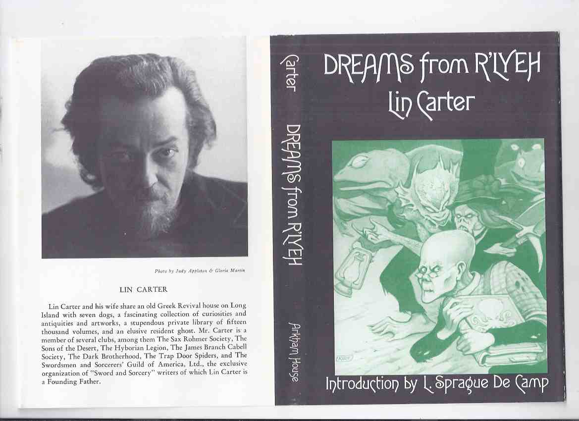 Image for Dreams from R'Lyeh -by Lin Carter ---- a signed Copy / ARKHAM HOUSE  REVIEW COPY