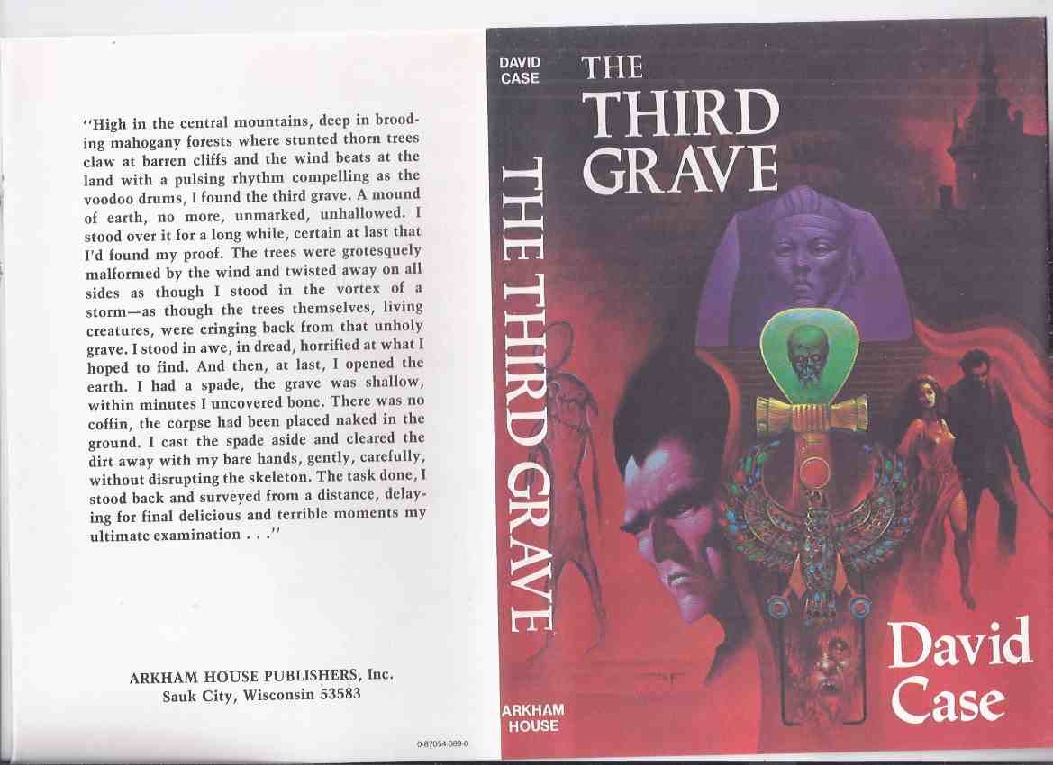 Image for The Third Grave -by David Case / ARKHAM HOUSE