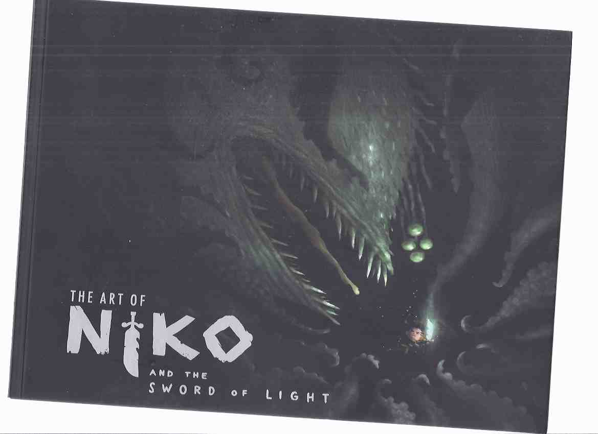 Image for The Art of Niko and the Sword of Light -a Signed Copy with Limited Edition Signed Print ( Artwork / Sketchbook / Illustrations for the TV Series )