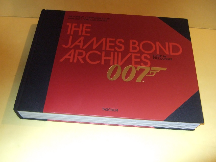 Image for TASCHEN 1st Edition: The James Bond Archives: The Ultimate Companion to 007 with More Than 1000 Images (covers the Books, the Movies; Ian Fleming; Actors, Directors; Chronology; Index; Bibliography, etc)