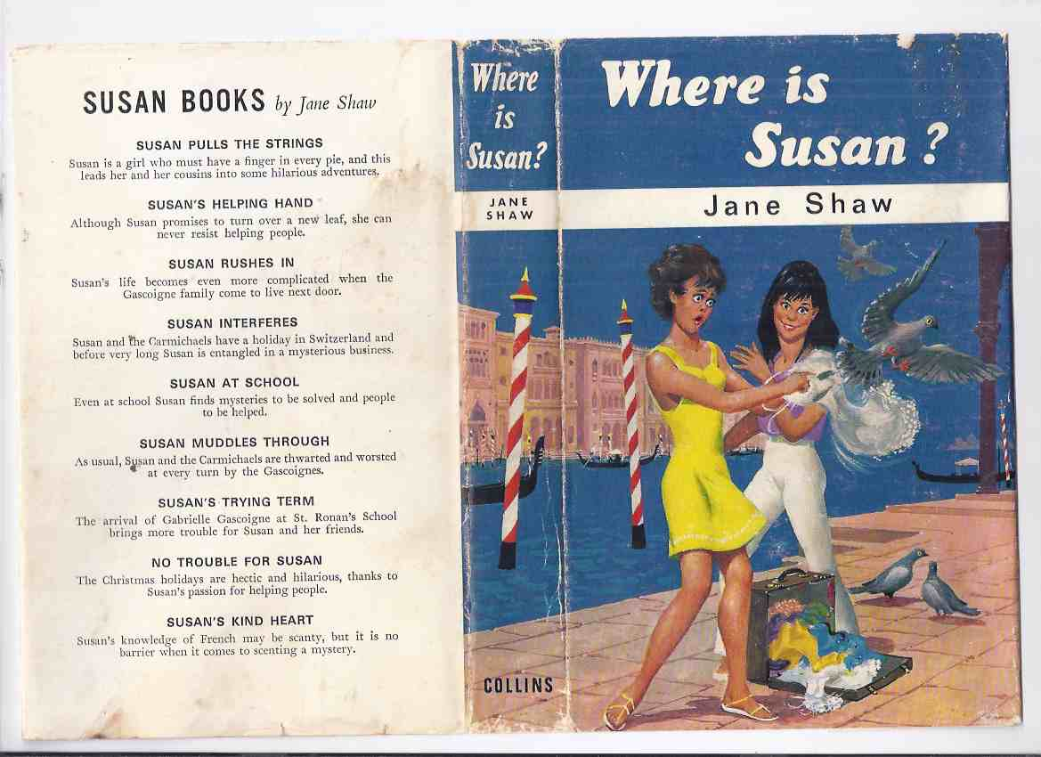 Image for Where is Susan? -by Jane Shaw ( Volume / Book 10 / Ten of the Series )