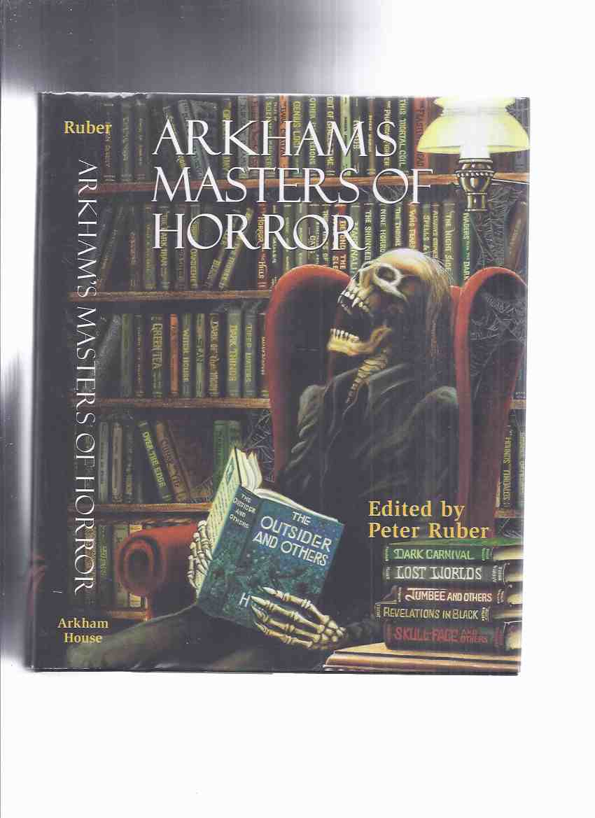 Image for ARKHAM HOUSE: Arkham's Masters of Horror A 60th Anniversary Anthology Retrospective of the First 30 Years of AH (inc Prince Alcouz and the Magician; Valley of the Lost; Bat Is My Brother; Sea-Tiger; Small Assassin; Open Window, etc)