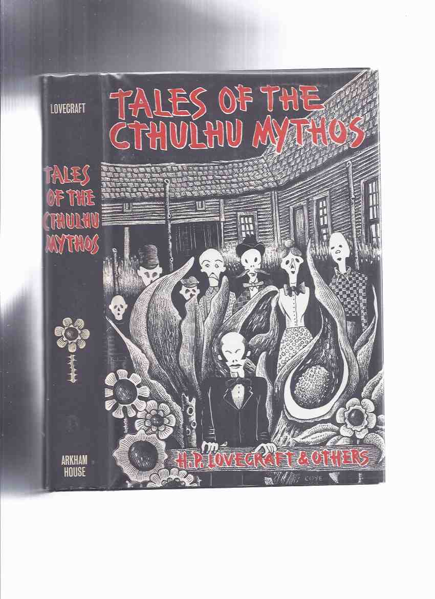 Image for ARKHAM HOUSE: Tales of the Cthulhu Mythos: H P Lovecraft and Others -Signed By Robert Bloch ( Hounds of Tindalos; Space-Eaters; Black Stone; Dweller in Darkness; Shambler from Stars; Haunter of the Dark; Cold Print; Deep Ones; Return of the Lloigor, etc)