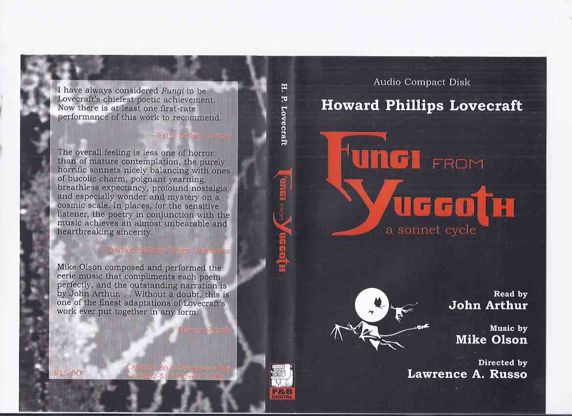 Image for Howard Phillips Lovecraft's Fungi from Yuggoth: A Sonnet Cycle -by H P Lovecraft ( Audio Compact Disk / CD ) / Fedogan & Bremer 2001 ( Composer's Mix )