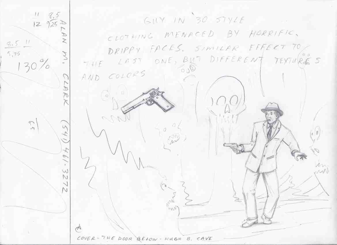 Image for FEDOGAN & BREMER preliminary sketch by Alan M Clark cover art )