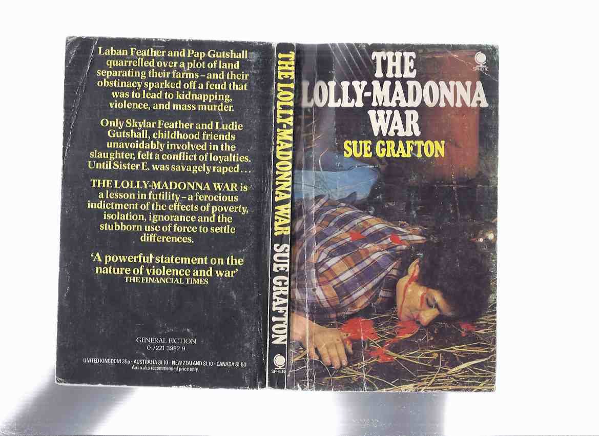 Image for The Lolly-Madonna War ---by Sue Grafton -a signed Copy