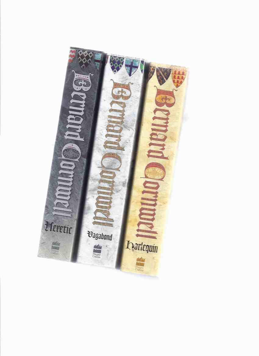 Image for The Grail Quest Trilogy:  Harlequin ---with Vagabond ---with Heretic ---Book 1, 2 and 3 of the Cycle ---Three Volumes