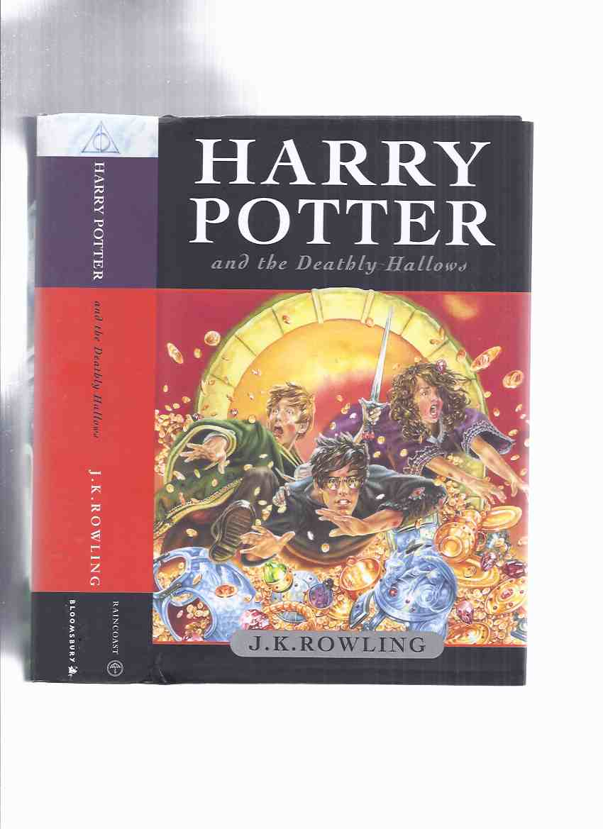 Image for Harry Potter and the Deathly Hallows -by J K Rowling ( Book 7 of the Series / Volume Seven )( a copy released at 12:00:01 a.m. on July 21st, 2007 )