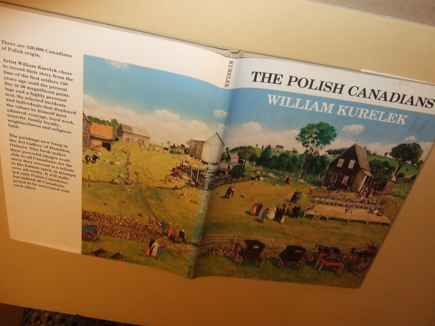 Image for The Polish Canadians Illustrations / Illustrated by William Kurelek / Tundra Books ( full page colour illustrations)
