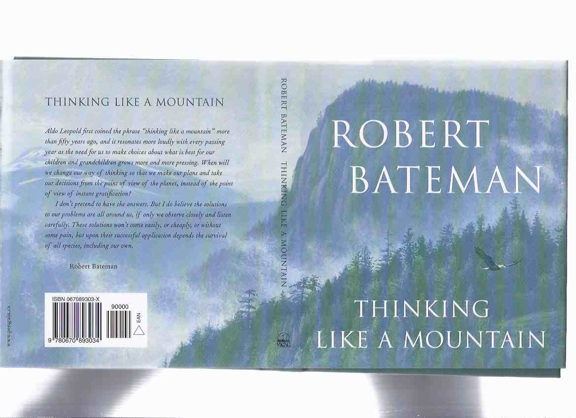 Image for Thinking Like a Mountain -by Robert Bateman -a Signed Copy
