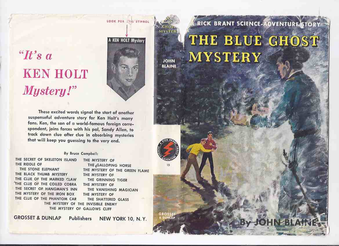 Image for The Blue Ghost Mystery: Rick Brant Science Adventure Story No. 15 By John Blaine ( Volume # Fifteen )