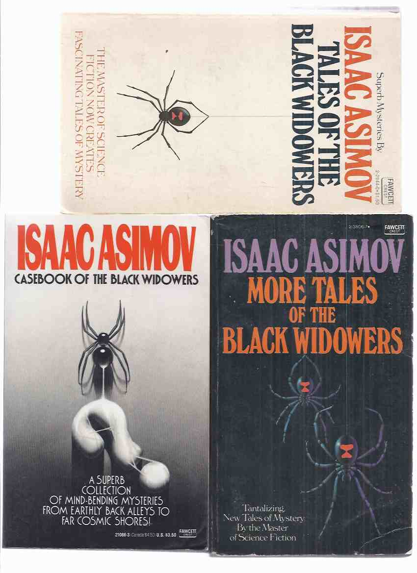 Image for Tales of the Black Widowers ---with More Tales of the Black Widowers ---with Casebook of the Black Widowers -THREE VOLUMES -by Isaac Asimov