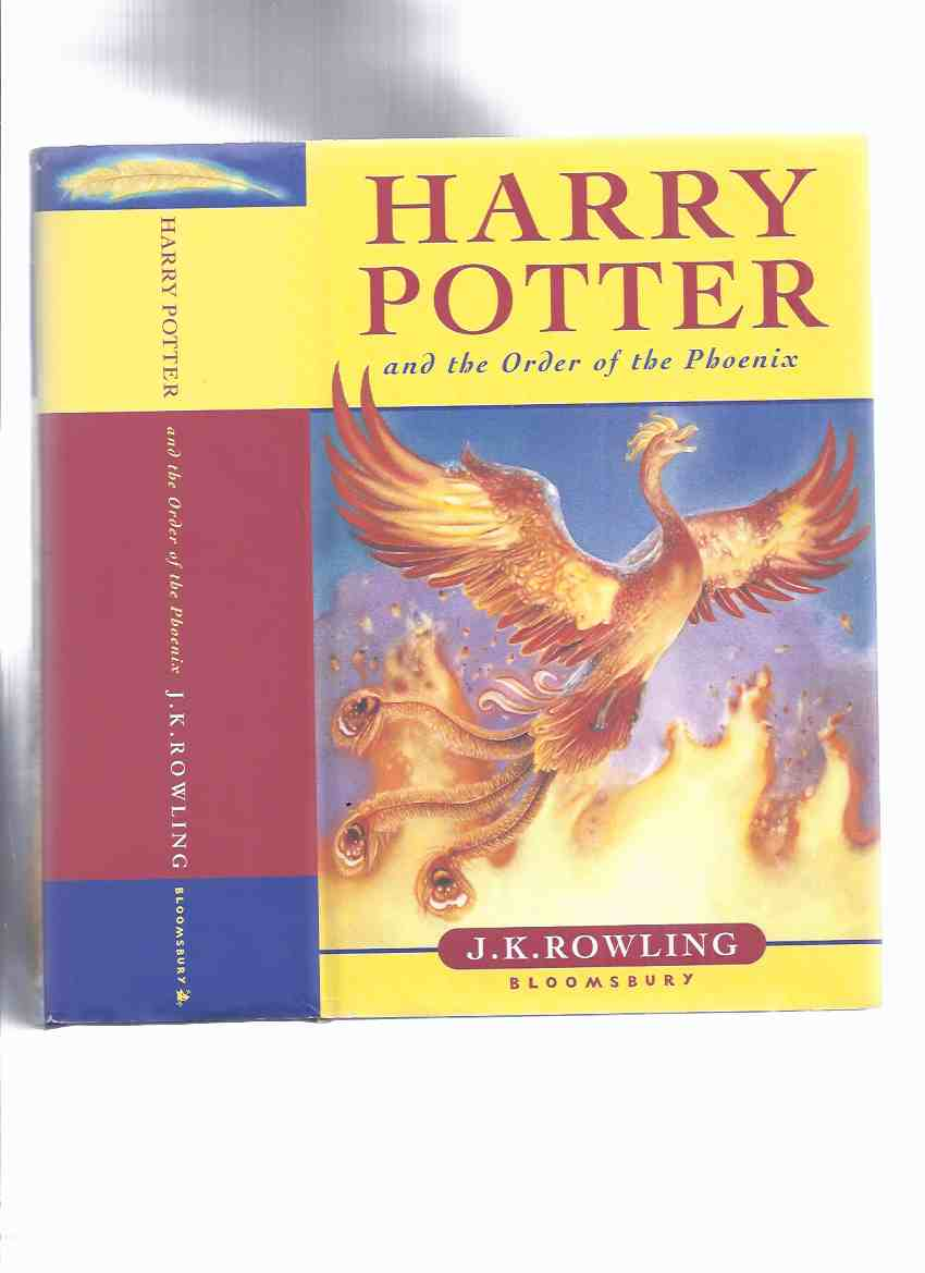 Image for Harry Potter and The Order of the Phoenix -by J K Rowling ( Book 5 of the Series / Volume Five )