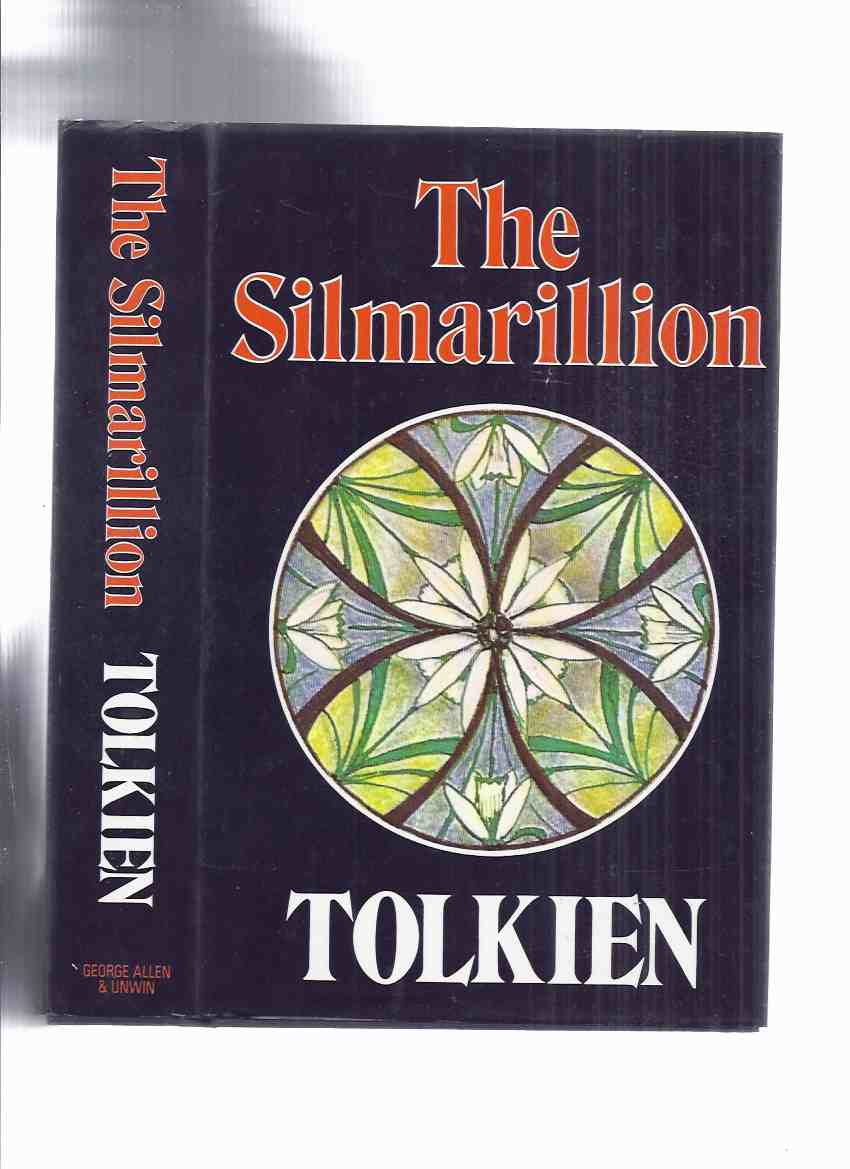 Image for The Silmarillion -by J R R Tolkien ---with Fold Out Map at Rear ( 1st State Dustjacket )( The Lord of the Rings / The Hobbit / Middle Earth related)  (includes Family Trees, Index of Names, etc)