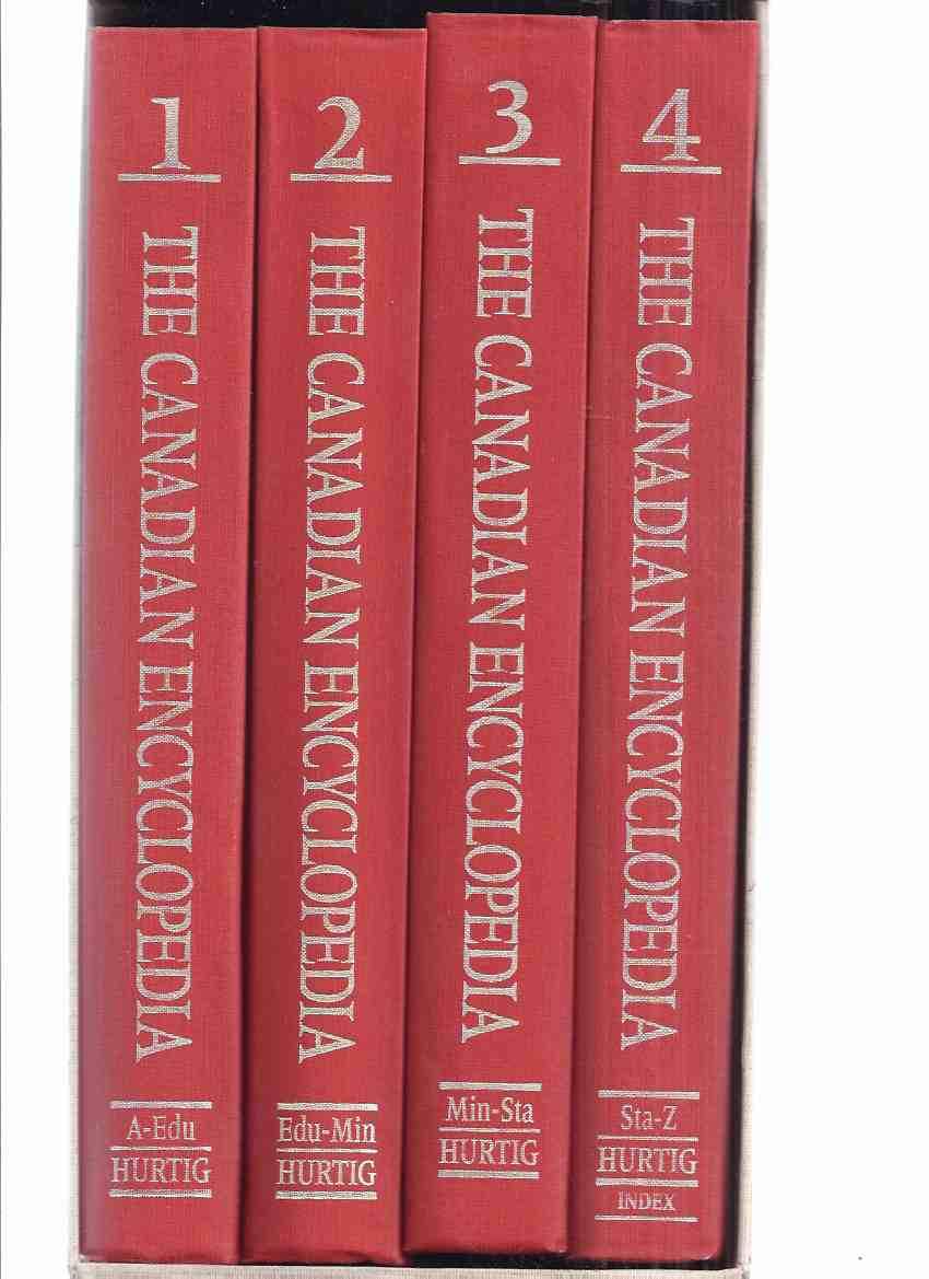 Image for FOUR VOLUMES in Slipcase: The Canadian Encyclopedia -book 1, 2, 3, 4