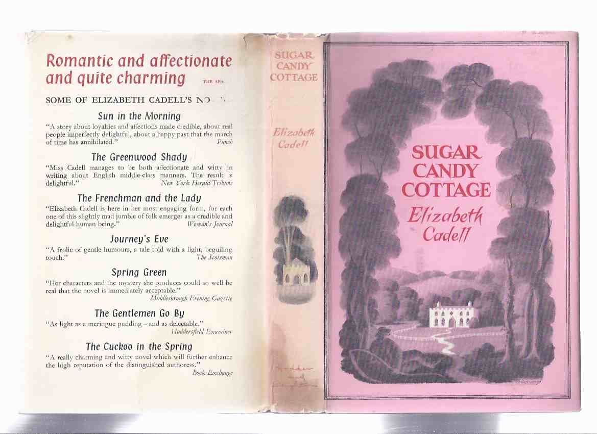 Image for Sugar Candy Cottage  ---by Elizabeth Cadell ( UK Hardcover 1st Edition )