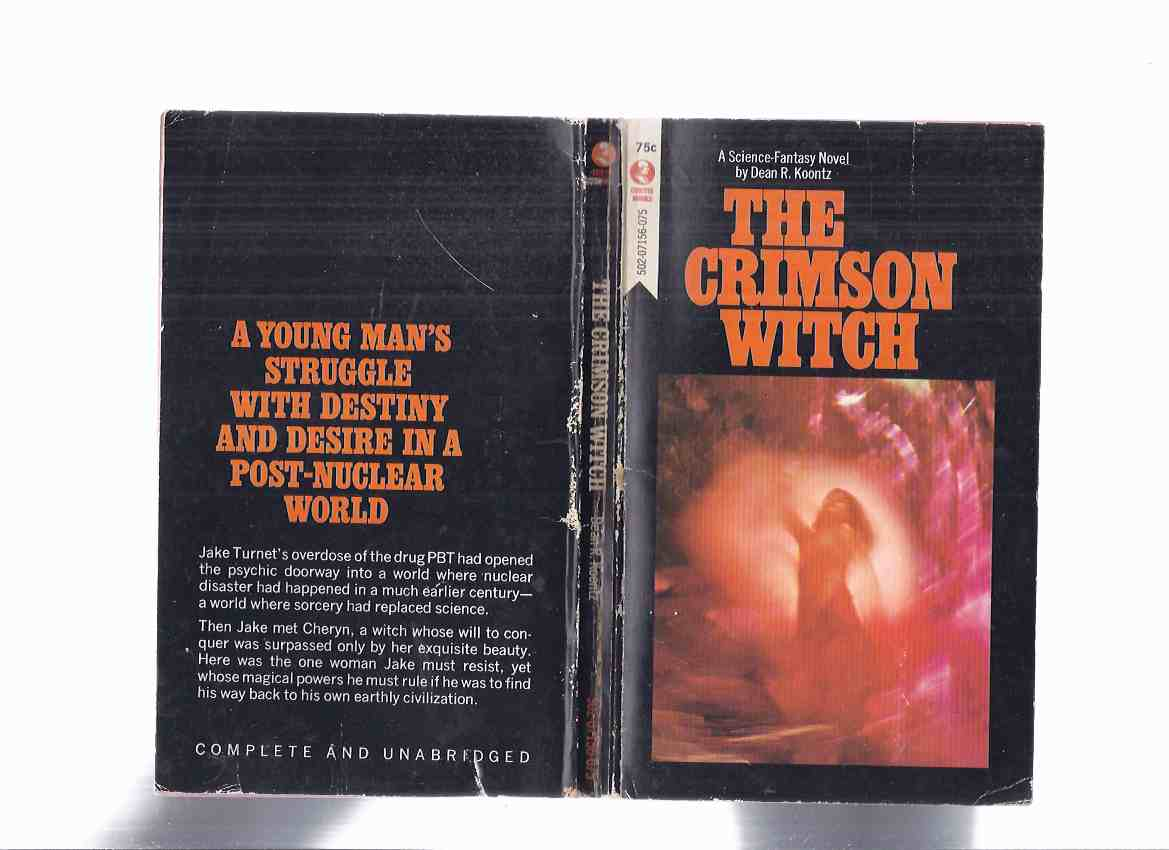 Image for The Crimson Witch -by Dean R Koontz ( true 1st Edition of the Curtis Paperback / no Hardcover edition )