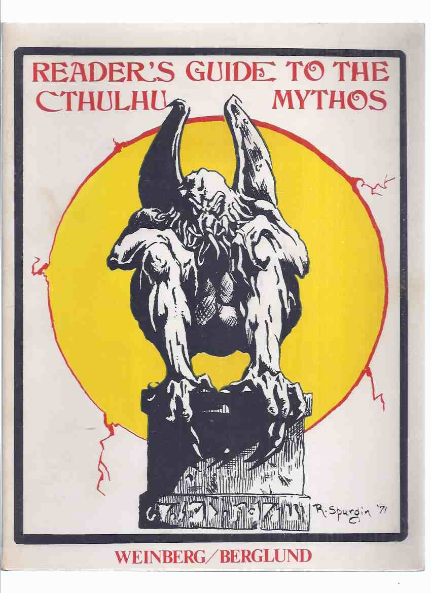 Image for Reader's Guide to The Cthulhu Mythos -by Robert Weinberg ( H P Lovecraft Related )